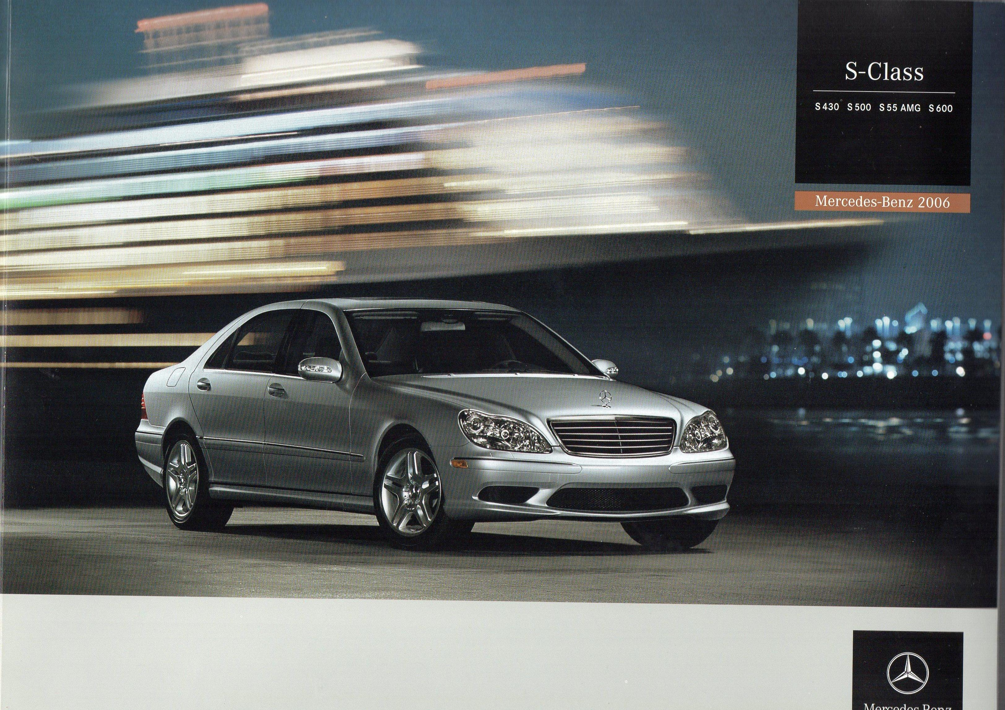 Mercedes benz 2006 sl s class brochures for sale for Mercedes benz home page